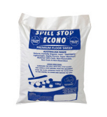 Absorbent Particles- SPILL STOP Econo 10 kg Bag
