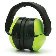 PM8031 Hi-Vis Lime Ear Muff