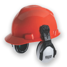 Helmet-Mounted, Passive Ear Muff