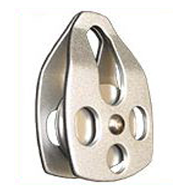 Aluminum Single Pulley With Single Side Attatchment