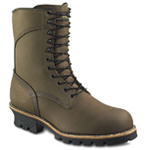Men's 10-inch Logger Boot Brown