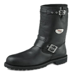 Men's 10-inch Pull On Boot Black