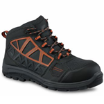 Men's 5-Inch Hiker Boot Gray-Orange