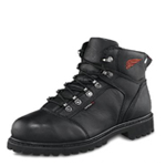 Men 6-inch Boot Black