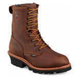 Men's 9-inch Logger Boot Brown