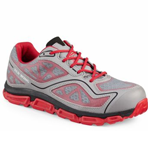 Men's Athletic Gray-Red