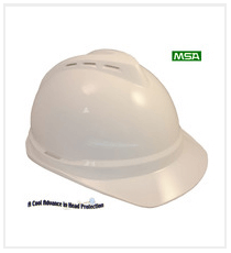 MSA V-GARD Cap Style With Vents