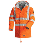 65184 FR Hi-Vis Rainwear Jacket
