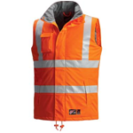 65189 HI VIS FR,Rainwear, Insulated Vest